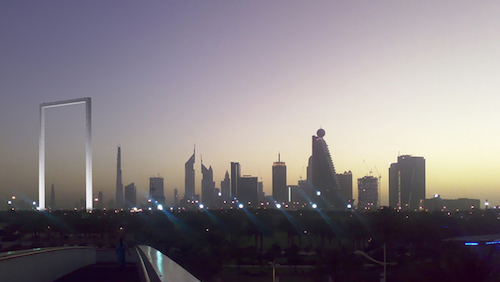 The Dubai Frame, obra del arquitecto mexicano Donis