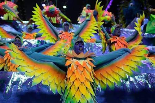 Carnaval presentación escuela Portela
