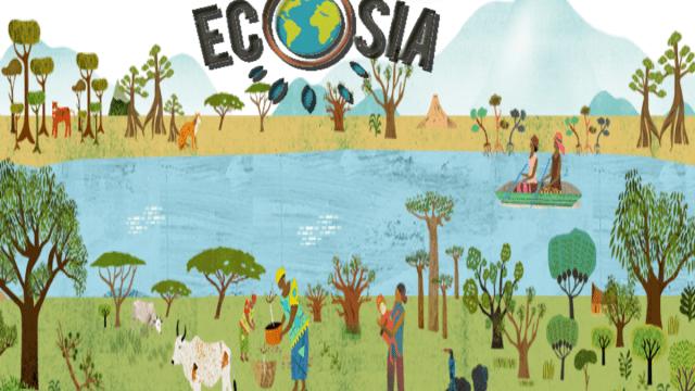 Ecosia, buscador de internet