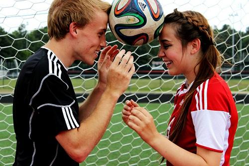 Amor y pasión por el futbol es igual