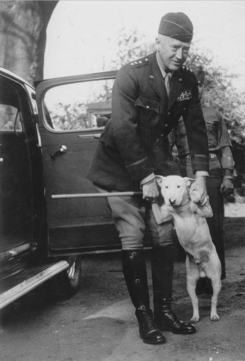 Este perrito fue una de las mascotas más conocidas de la segunda guerra mundial