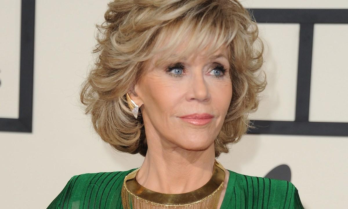 Jane Fonda en la entrega 75 de los Grammy
