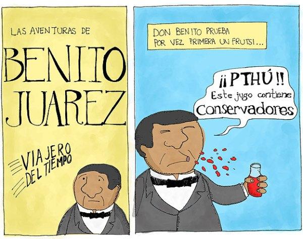 Benito Juarez sabía lo que su vida necesitaba