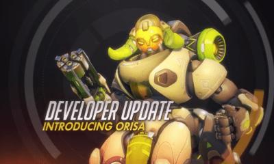 Orisa nuevo personaje overwatch