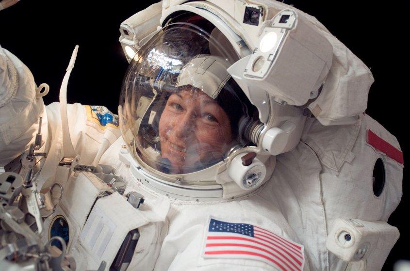 La mujer astronauta con más visitas al espacio
