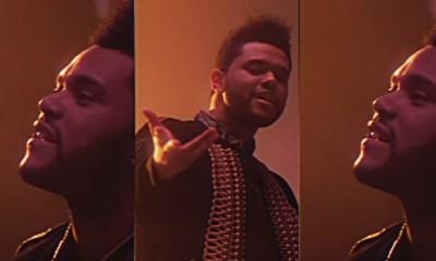 The Weeknd en un viaje espacial