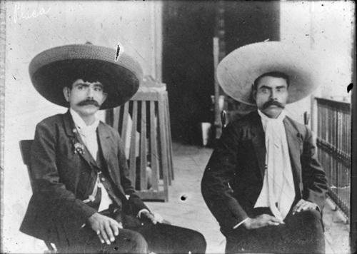 El revolucionario Emiliano Zapata