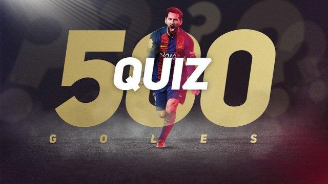Barcelona le rinde tributo a Messi por sus 500 goles con un emotivo video