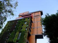 Este jardín están en Beirut Líbano y fue planeado por los arquitectos J,M.Bonfils y Asociados