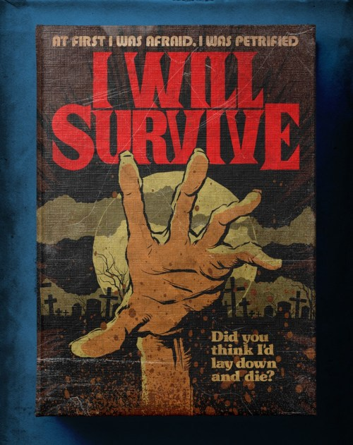 Butcher Billy ilustra I Will Survive de Gloria Gaynor