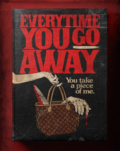 Butcher Billy ilustra Everytime You Go Away de Paul Young