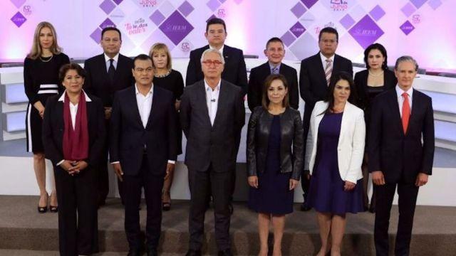 Debate de los candidatos al gobierno de Edomex estuvo lleno de acusaciones y pocas propuestas