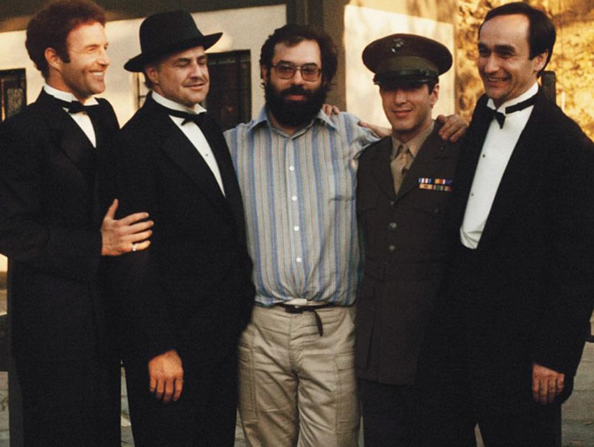El elenco de El Padrino se reunió para festejar los 45 años del estreno de la película