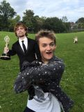 King Joffrey y Tyrion Lanister