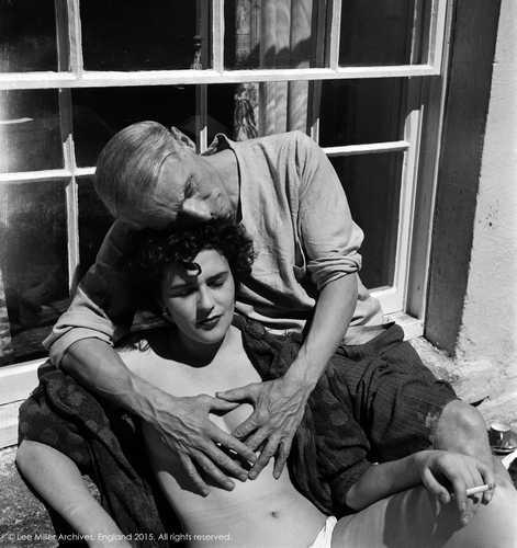 Leonora Carrington y Max Ernst