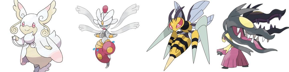 Mega Audino, Mega Medicham, Mega Beedrill y Mega Mawile llegarán a Pokémon Sol y Luna