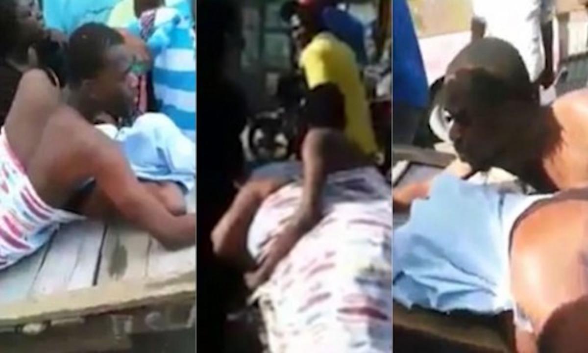 Novios de Kenia se quedan pegados mientras sostenían relaciones sexuales