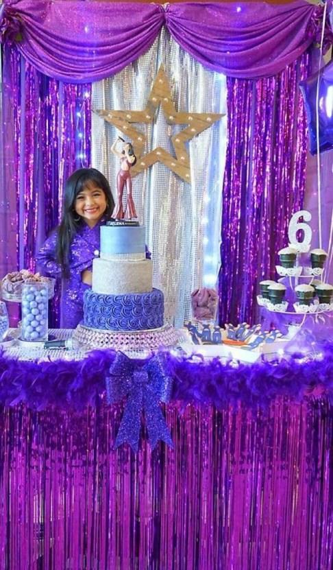 La fiesta de cumple que a Selena Quintanilla le hubiera encantado