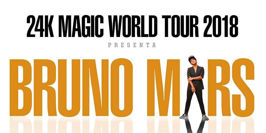 La gira de Bruno Mars en México