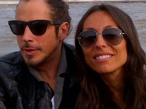 Vicky y Chris Cornell
