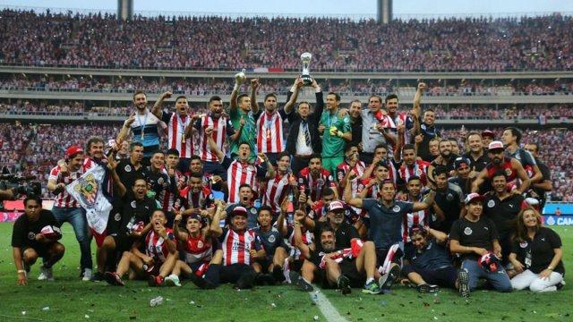 Las Chivas Rayadas del Guadalajara se coronan campeones de la Liga MX