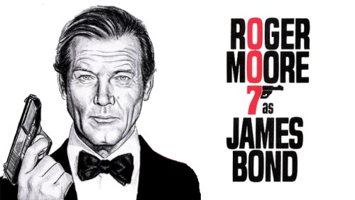 El agente 007 Roger Moore