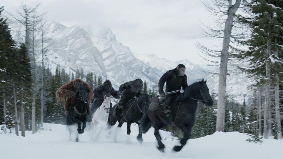 Ya esta aquí el trailer final de La Guerra del Planeta de los Simios