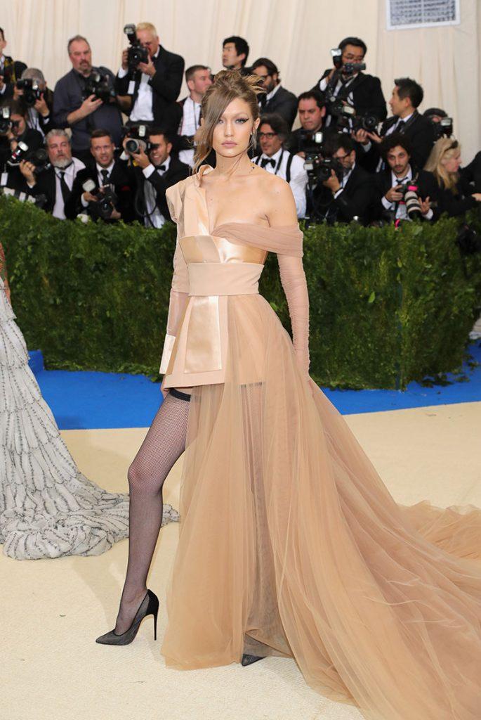 Gigi Hadid en la Gala del Met