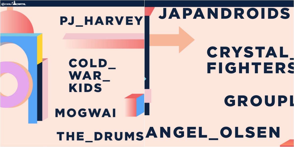Más bandas se agregan al cartel del Corona Capital 2017