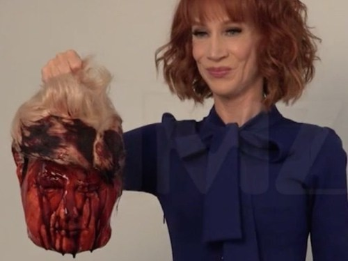 Griffin decapitó a Trump