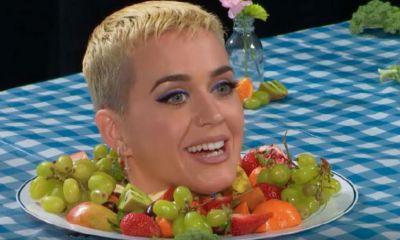 """La cabeza de Katy Perry les desea """"Bon Appéttit"""""""