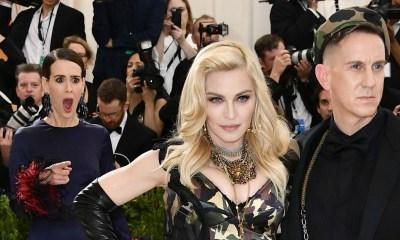 Así reaccionó Sarah Paulson al ver a Madonna en la Gala del Met