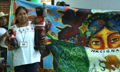 María de Jesús Patricio Martinez, más que candidata independiente a la presidencia 2018 es la vocera del Concejo Indígena de Gobierno