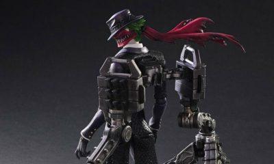 Figura de The Joker de Play Arts Kai Variant diseñada por Tetsuya Nomura