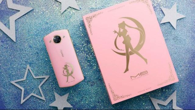 Sailor Moon tiene su propio smartphone de la marca Meitu