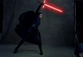 Adam Drive como Kylo Ren en Star Wars VIII
