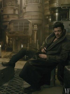 Benicio del Toro como DJ en Star Wars VIII