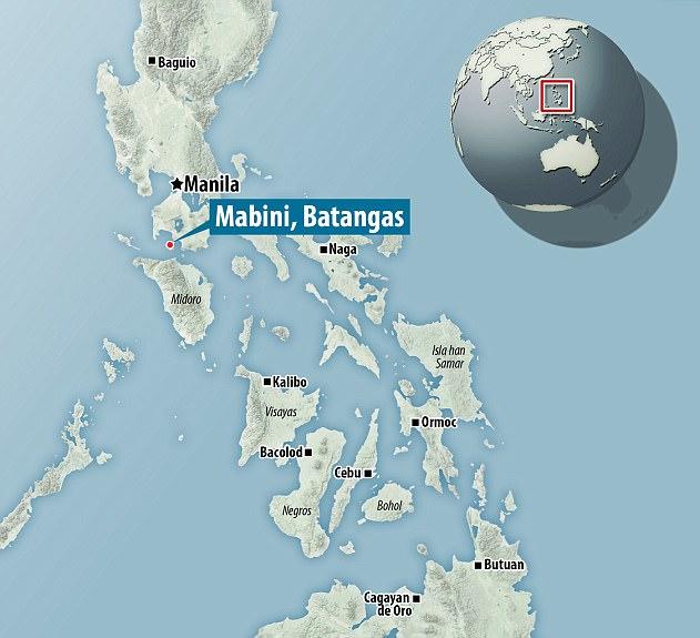 Capturan en video cómo se ve un temblor en el fondo del océano en Batangas, Filipinas