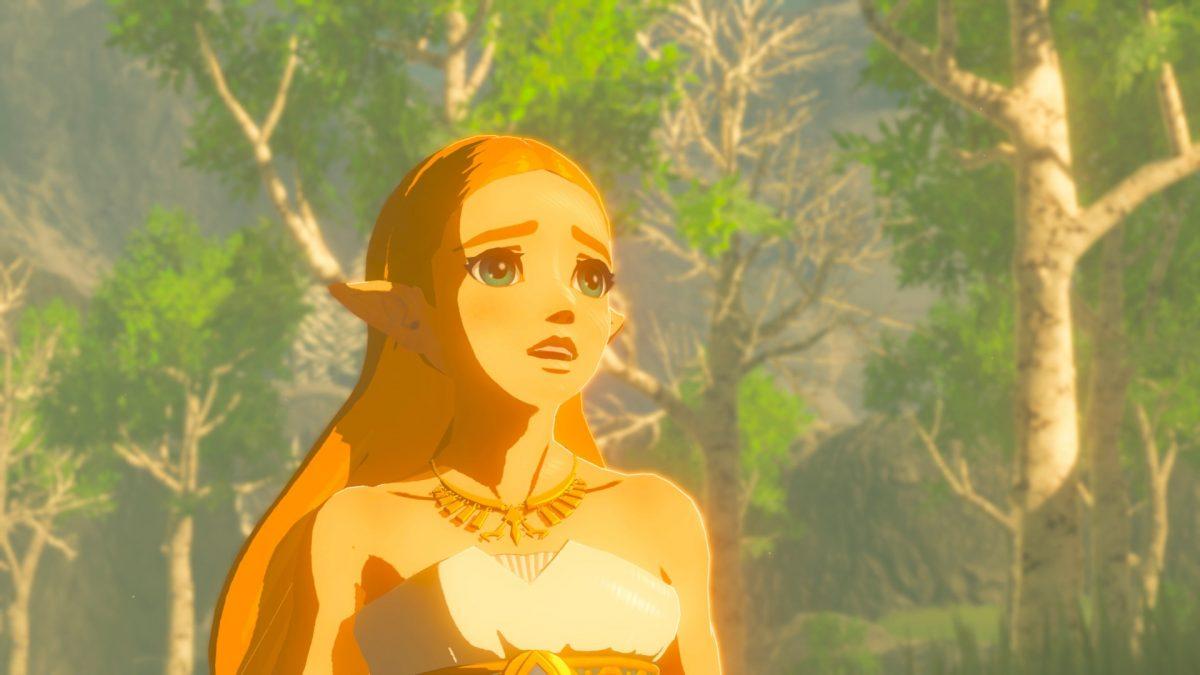 La princesa Zelda, en The Legend of Zelda: Breath of the Wild