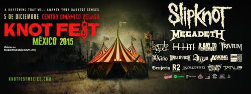 Knot Fest, el festival de rock y metal