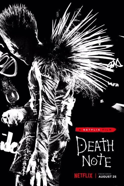En agosto llega Death Note a Netflix