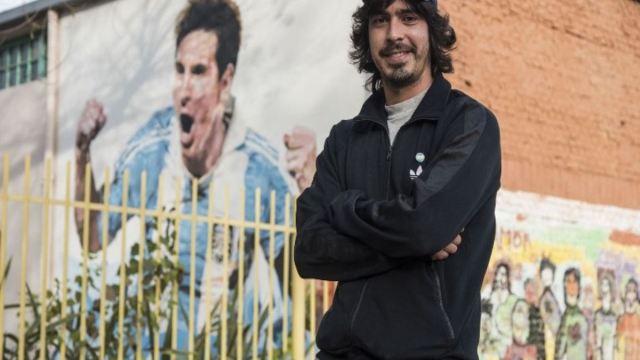 Messi invitó a su boda a un amigo de la infancia