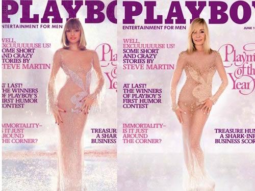 Modelo de Playboy de los años ochenta