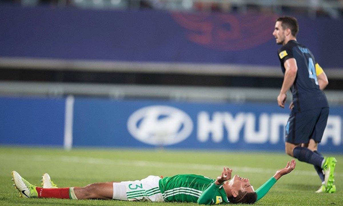 La Selección Mexicana sub 20 cae por un gol ante su similar de Inglaterra