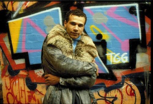 Goldie, graffiti street art