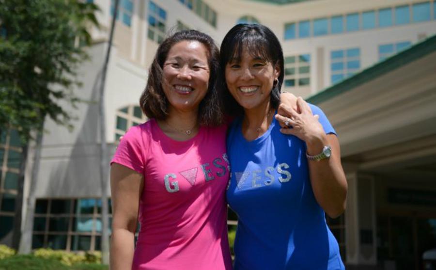 Hermanas coreanas se recuentran tras 40 años de la manera más WTF