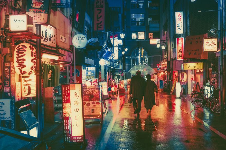 Tokio Masashi Wakui pareja