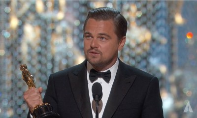 Leo DiCaprio devuelve su Oscar