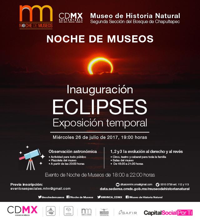 museo historia natural noche museos julio