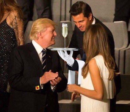 Mesero Peña Nieto Cumbre G20